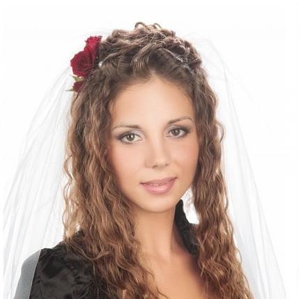 Свадебные прически и укладки