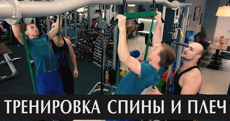 Embedded thumbnail for Дамир Завильский (тренировка спины и плеч)